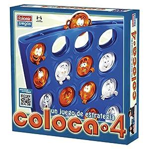 Falomir – Coloca 4 Juego de Mesa, Multicolor (646469)