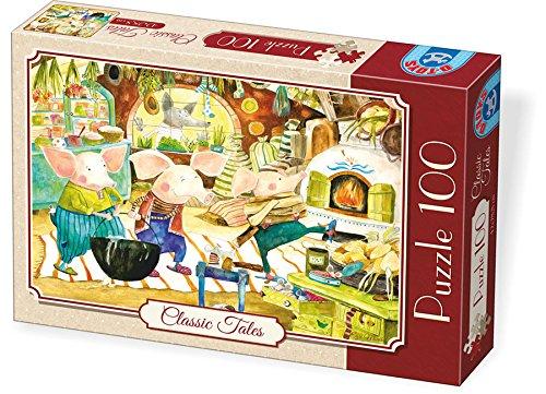 Unbekannt D de Toys 73488–Puzzle Classic Tales, 100Unidades