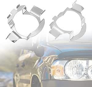 1 Paar H7 Led Scheinwerfer Lampenfassung Halter Halter Adapter Halter Clip Auto