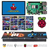 TAPDRA 14000+ Retro Games Arcade Console 2 Players for Raspberry Pi 4 Model B (1G RAM Edition) ES Retropie with 40+ Emulators