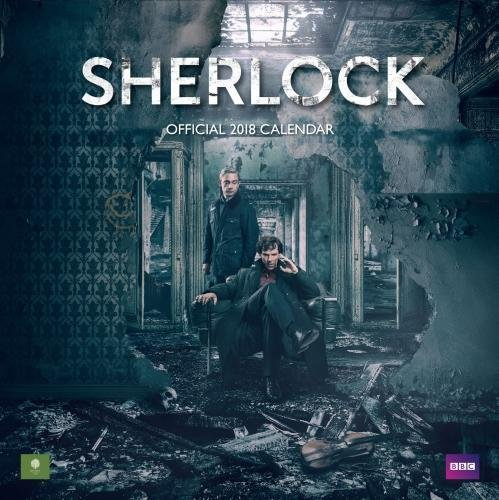 Sherlock Official 2018 Calendar - Square Wall Format (Calendar 2018) -