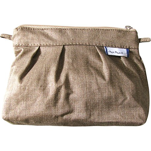 Papà Piqué E Madre Cuce Mini Bag Slub Lin O