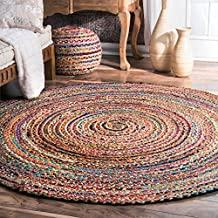 Amazon Fr Tapis Rond Jute