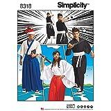 Simplicity Pattern 8318 A (XS-S-M-L-XL) Misses