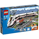 Lego® City - 60051 - Jeu De Construction - Le Train De Passagers À Grande Vitesse