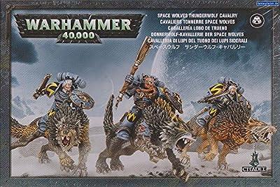 Jeux Atelier 99120101091Espace Loups Thunder Loup Cavalry Action Figure