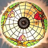HBA 16 Zoll Bonbonfarbenen Art Glass Wendeltreppe karaoke Ballsaal und Villen Tiffany Decke