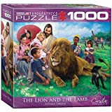 Eurographics Puzzle 1000 Pc - The Lion and the Lamb (8x8 box) (MO) (EG80000345)
