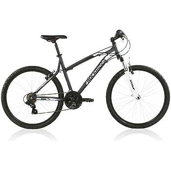 B'TWIN Rockrider 340 Mountain Bike, Grey/White