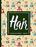 Hair Appointment Book: 7 Columns Appointment Diary, Appointment Scheduler Book, Daily Appointments, Cute Circus Cover