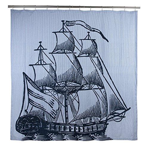 Thomas Paul Galeone Vorhang für die Dusche, Tinte Thomas Duschvorhang