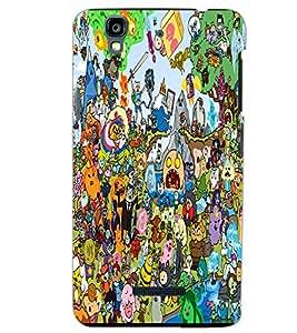 YU YUREKA CARTOONS Back Cover by PRINTSWAG