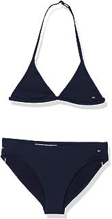 Tommy Hilfiger M/ädchen Triangle Bikini Set Badebekleidungsset