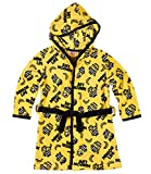 Minions Despicable Me Jungen Coral fleece Bademantel mit Kapuze - gelb - 128