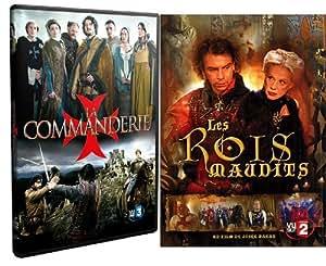 La Commanderie (3 dvd) + Les rois maudits (3 dvd)