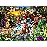 Puzzle House- Paradiso degli Animali Selvatici, Puzzle di Legno, Mondo Bestia, Taglio Perfetto, 300/500/1000 Pezzi Puzzle in Legno di Tiglio Giocattoli Gioco Arte per Adulti e Bambini -424