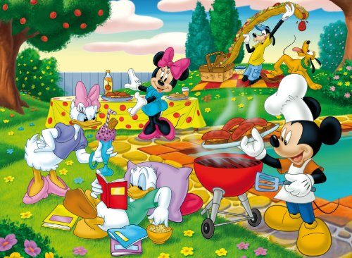 Clementoni Puzzle 28213 - Mickey: The barbecue - 150 pezzi