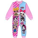ShiJinShi LOL Surprise - Pijama de 3 a 8 años, color rosa y rojo