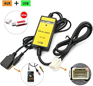 Gfyee Auto Audio Mp3 Player Schnittstelle Usb Aux Kabel Elektronik