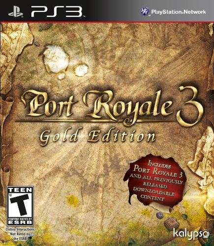 Port Royal 3- Gold Edition - PlayStation 3 by Kalypso Media