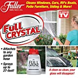 Lavendei Full Crystal Window Cleaner, Fensterreiniger House Spray Bottle Cleaner, Fensterputzer, Kunststoff, 946ml Professioneller Glasreiniger