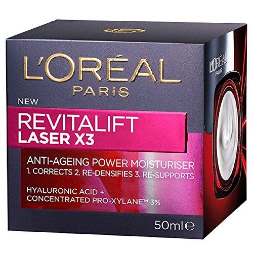 L' Oréal Paris X3 Laser Revitalift Renouveler Hydratant Anti-Âge Avancé (50 Ml)