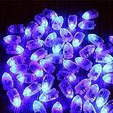 Kuulee 10 Mini LED Glühbirne wasserdichtes Blinkendes Licht für Ballon und Laterne, Hochzeitsfest Weihnachten Tischdekoration Tauchgang