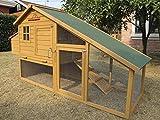 Pets Imperial® - Hühnerstall Sandringham - 190 cm - für bis zu 4 Hühner - innovative Verriegelung