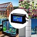 Digitales Thermometer, USB Aquarium Thermometer Messgerät, Celsius/Fahrenheit Farbe LCD Wasserdichter Sensor NTC Sonde Für Aquarium Vivarium