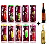 Shatler´s Cocktail Paket (10x0,2l) + Rosso & Bianco Nobile (2x0,25l)- VERSANDKOSTENFREI