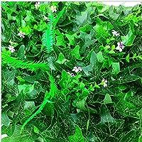 E-Greetshopping E-Césped de Plantas Flor Hierba Hoja Enredaderas Artificiales Pared Adorno de 40 * 60cm