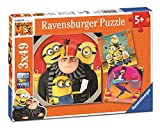 Ravensburger - Puzzle 3 x 49 piezas, Gru, Mi Villano Favorito (8016)