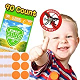 Mückenschutz-Aufkleber aus natürlichem Pflanzenessenz 90 Moskitoschutz Stickern effektiver Schutz 100% sicher für Kinder Neugeborene und schwangere Frauen ...