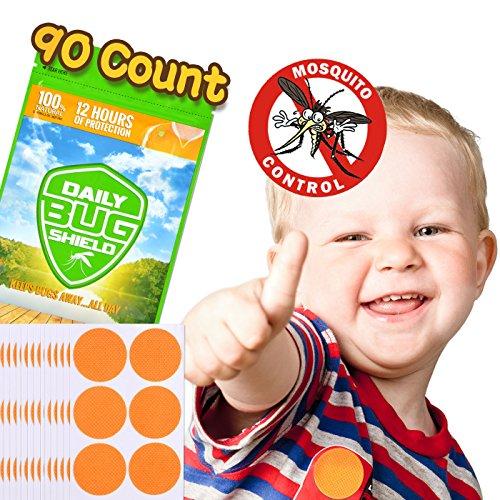 Mückenschutz-Aufkleber aus natürlichem Pflanzenessenz 90 Moskitoschutz Stickern effektiver Schutz 100% sicher für Kinder Neugeborene und schwangere Frauen - Zubehör Picknick-tisch