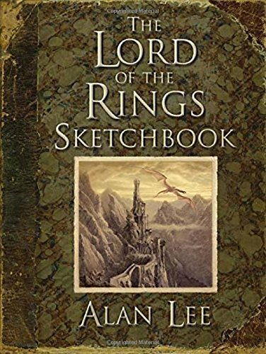 The Lord of the Rings Sketchbook: Portfolio por Alan Lee