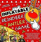 Gonfiabile Cappello Renna Anello Toss Antler Gioco - Giochi per la famiglia di Natale - Natale Party Games