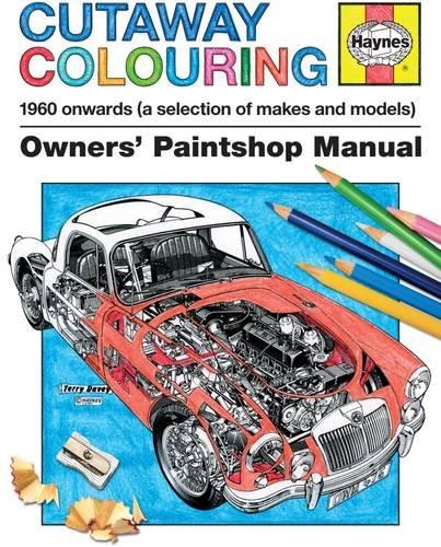 Haynes Cutaway Colouring Book