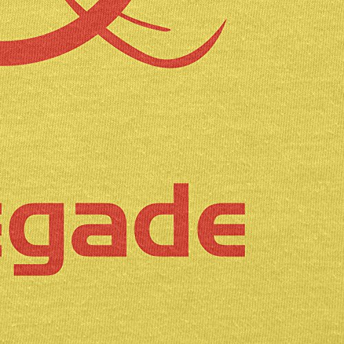 TEXLAB - Renegade - Herren T-Shirt Gelb