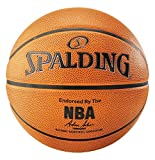 Spalding NBA Platinum Ball Basketball, orange, 7