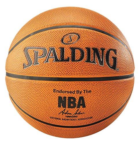 Spalding uni nba platinum outdoor ball, arancione, 7