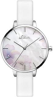 Time Quarz S Damen Edelstahl Uhr Armband Analog Mit oliver So 3592 OP08nwkX