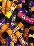 10 x Pritt Stick de colle 20 g unsortiert (Violet, jaune Glitter, Orange, Rose Glitter) lösemittel Frei, 20 sticks