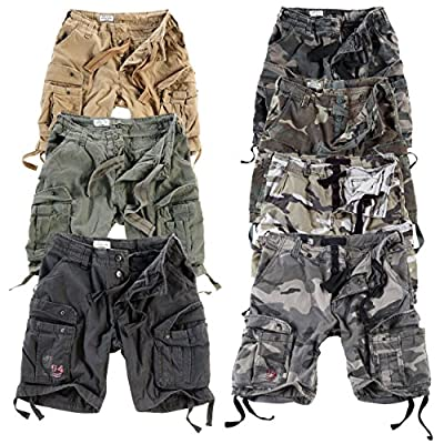 Surplus Herren Airborne Vintage Cargo Shorts