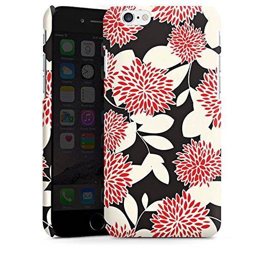 Apple iPhone X Silikon Hülle Case Schutzhülle Blumen Ornamente Muster Premium Case matt