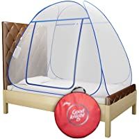 Good Knight Mosquito Net for Single Bed, Strong 30GSM net, High Durability, Foldable, Corrosion Resistant, Lightweight…
