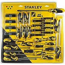 Stanley STHT0-62139 - Septiembre 69 Piezas De Destornilladores + Inserts