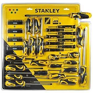 Stanley STHT0-62139 Jeu de 69 tournevis et embouts