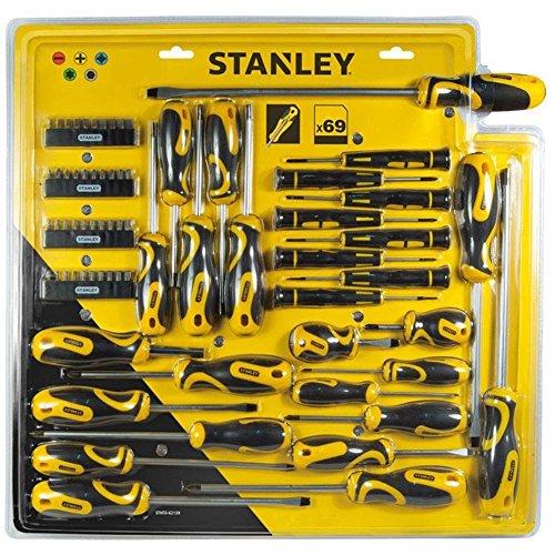 Stanley STHT0-62139 Satz mit 69 Schraubendrehern und Bits