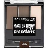 Maybelline New York Master Brow Pro Palette Design Kit NU4 Deep Brown Paleta do makijażu brwi