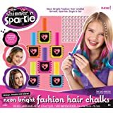 Shimmer & Sparkle Chalk and Style Hair Flair, Multi Color